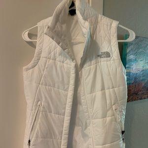 North Face Women's Vest - White XS